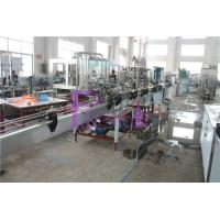 China 2000BPH Carbonated Beverage Filling And Capping Machines Electric Bottle Beer Filling Line on sale