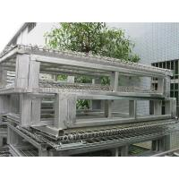 """Quality Racking System Metal Pallet Containers With Wire Mesh Storage Boxes 47"""" * 39' for sale"""