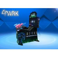 Quality Indoor arcade video game Aliens shooting game machine with dynamic gun for sale