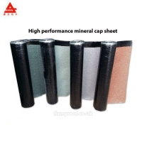 Buy 1x10 Mineral Granule Sbs Asphalt Roofing Membrane Mineral Cap Sheet at wholesale prices