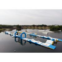 Buy cheap Bouncia 2018 New Inflatable Water Obstacle Course For Wake Park from wholesalers