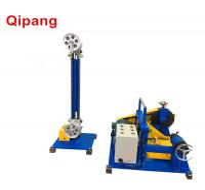 Buy cheap qipang Automatic cable winding Machine wire rewinding machine coiling cable from wholesalers