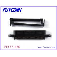 Buy cheap Female 64 Pin Centronic IDC Clamp Connector with Cable Clamp 2.16mm from wholesalers