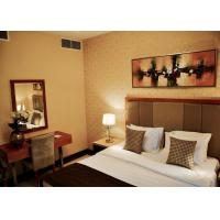 Quality Commercial Hotel Furniture Solid Wood Plywood Fabric Foam Material for sale