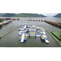 Buy cheap 0.9mm PVC Tarpaulin Inflatable Floating Water Playground For Resort from wholesalers