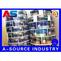 Buy Spartan Lab 10ml Vial Labels Hologram Laser Roll Labels Stickers Glossy Finish at wholesale prices
