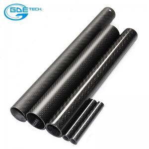 Quality 2meter 3k carbon fiber tube for sale