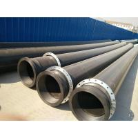 Quality High Density HDPE Pipe Hdpe Underground Pipe For Discharging The River Sand for sale