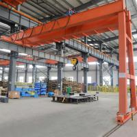 Quality BMH Type Semi Single Girder Gantry Crane With Electric Hoist Indoor Or Outdoor for sale
