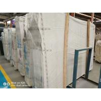 Quality Honed Home Marble Stone Tile / White And Grey Marble Floor Tiles for sale