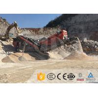 China How much is a mobile crushing station for processing zeolite? on sale