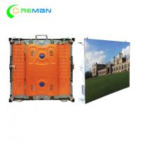 Quality Portable Outside LED Display Cabinet For Hire , 96X96 Slim P6 LED Display 192X192mm for sale