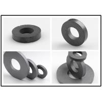 Quality High Temp Ferrite Ring Magnet Cylindrical / Spherical Shape DC Motor Magnets for sale
