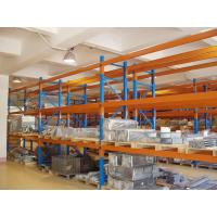 Quality Three Beam Level Selective Pallet Racks for Logistic Management Blue for sale