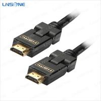 Quality Black removable Hdmi to hdmi cable 1.4Vesion for sale