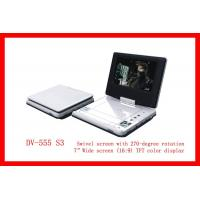 "Quality Double Games Player 7 "" Protable DVD Player (DV-555 S3) for sale"