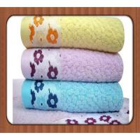 Quality comfortable superfine bamboo cotton mixed face towel/square towel on sale for sale