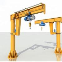 Quality 20t Rated Loading Capacity Electric overhead Jib Crane With Chain Hoist for sale