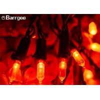 Buy cheap Color Changing Outdoor Led Bulb String Lights , 50 LED Outdoor Led String Lights from wholesalers