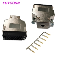 Quality Female V.35 Crimping Type Router Connector With L Shape Plastic Case for sale