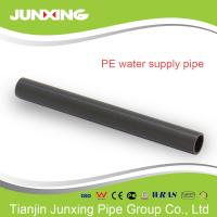 Quality hdpe pipe 1/2 inch for irrigation in farms black color with ISO4427 approval for sale
