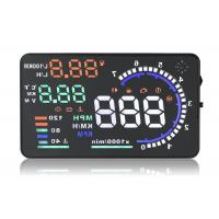 Quality A8 5.5 Inch Hud Head Up Display , Working Voltage 12V Dc Portable Heads Up Display for sale