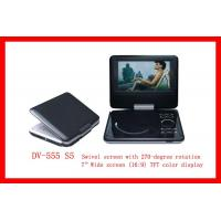 Quality Protable DVD Player With USB and 3-in-1 Card Reader (DV-555 S5) for sale