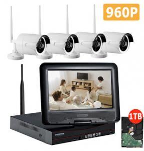 960P WiFi CCTV Camera Kit , 4 Camera Wireless Security SystemEasy Install
