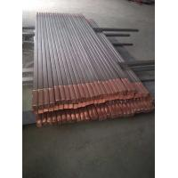Quality titanium clad copper rod bars for Electrolytic and alkali manufacturing for sale