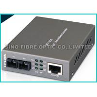 Buy cheap SNMP Managed Fiber Optic Fast Ethernet Media Converter RJ45 to SC Web - Based from wholesalers