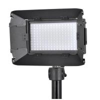 Quality High Brightness Led Camera Lights With Barndoors / Lcd Touch Screen for sale
