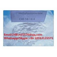China High Purity Pharmaceutical Grade Muscle Groeth Steroids 17-Methyltestosterone Powder on sale