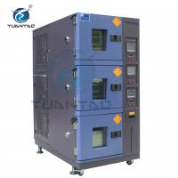 Quality Custom 3 Layer LCD Touch Screen Controller temp. humi. test environmental chamber for sale