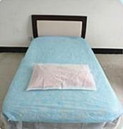 Quality comfortable&breathable nonwoven bed sheet for sale