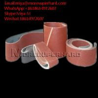 Quality Abrasive Belts, Sanding Belts ceramic, silicon, zirconia,aluminum miya@moresuperhard.com for sale