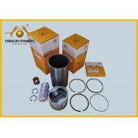 China 5878133420 4BD1 Steel Thin Wall Chrome Cylinder Liner Kits Sliver Color on sale