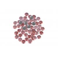 Quality Strong Glue Crystal Hotfix Rhinestones , Sparkles Rhinestones 12 / 14 Facets for sale