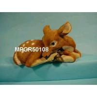 Quality Poly Resin Garden Painted Fawn for sale