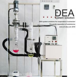 Lab Solvent Recovery Machine , Solvent Distillation Plant 220V 60hz Voltage Feed Amount