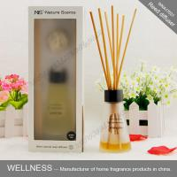 Quality Luxury reed diffuser with clear conical bottle, rigid high-end gift box for sale