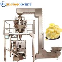 Quality Potato Chips 3 Kw Automatic Food Packing Machine 1800*1250*1780mm for sale
