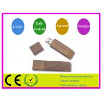 Quality Square shape wooden usb flash drive AT-101O for sale