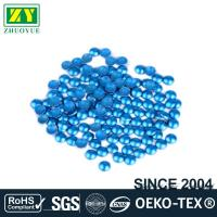 Quality Dresses Blue Dome Studs , Shiny Fixing Press Studs Environmentally Friendly for sale