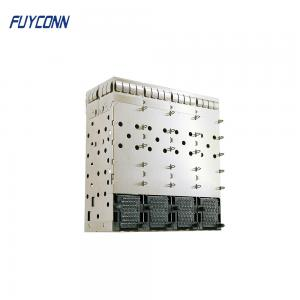 Quality 160pin Press Pin Type 2*4 8 Ports SFP+ Connector for sale
