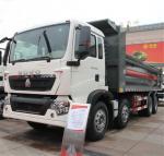 Quality Sinotruk Howo Heavy Duty Dump Truck 8x4 , 12 Wheel Dump Truck ZZ3317N386G for sale