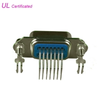 Quality 57 CN Series 24Pin Female Centronic Right Angle PCB Connector No Wire Support for sale