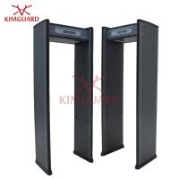 China 6 zone Digital Walk Through Metal Detector Pinpoint Body Scanner Remote Control on sale
