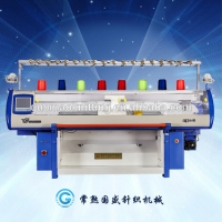 Quality Computer Wool Double System 10G Hat Knitting Machine for sale