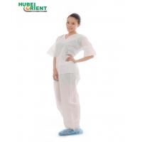 Quality Antibacterial Disposable SMS Medical Pajamas For Hospital for sale