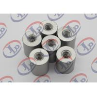 6061 T6 Metal Machined Parts  Anodizing Flat Head Aluminum Nuts With M5 Threaded